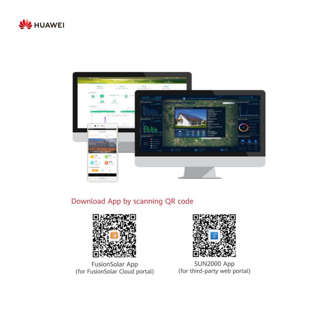 Solar Fresh Falownik Huawei aplikacja